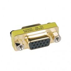 Cambiador de género TRIPP-LITE P160-000 - Oro, VGA (D-Sub), VGA (D-Sub), Hembra/hembra