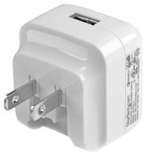StarTech.com Cargador de Pared USB con función de carga rápida Quick Charge 2.0 - Cargador blanco para viajes