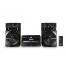 Panasonic SC-AKX100LMK sistema de audio para el hogar Minicadena de música para uso doméstico Negro 300 W