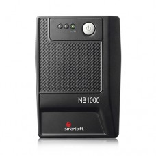 NO BREAK SMARTBITT 1000VA/500 WATTS 6 CONTACTOS, PUERTO USB, PROTECCIN DE LINEA TELEFNICA RJ-11