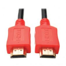 CABLE HDMI DE ALTA VELOCIDAD HD 4KX2K C/ AUDIO M/M 3.05M ROJO