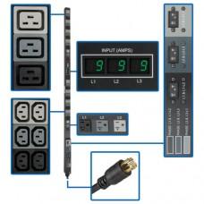 PDU TRIPP-LITE PDU3MV6L2130 - Metered, 0U, Vertical, Acero
