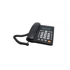 WAM AS7412-B(W) teléfono Negro Identificador de llamadas