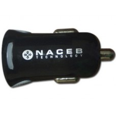 Cargador NA-600N Naceb Technology - Auto, Negro