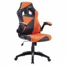 Silla Gaming Naceb Technology AIR STRIKER - Gamer, Negro/Naranja, Piel Sintética