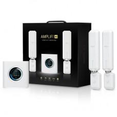 Ubiquiti AmpliFi Home Wi-Fi System AFi-HD - Sistema Wi-Fi (enrutador, 2 extensores) - hasta 20.000 pies cuadrados - malla - GigE - 802.11a/b/g/n/ac