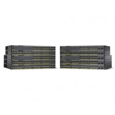 Cisco Catalyst WS-C2960X-48LPD-L switch Gestionado L2 Gigabit Ethernet (10/100/1000) Negro Energía sobre Ethernet (PoE)