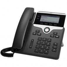 Cisco 7821 teléfono IP Negro, Plata Terminal con conexión por cable 2 líneas