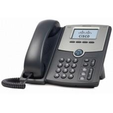 TELEFONO IP CISCO 1 LINEA POE PANTALLA LCD 2 PUERTOS GIGABIT ETHERNET