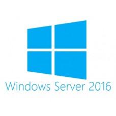 DELL MS Windows Server 2016, 5 CALs, ROK 5 licencia(s) Holandés, Inglés