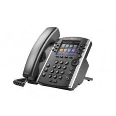 Polycom VVX 410 teléfono IP Negro Terminal con conexión por cable LCD 12 líneas Wifi