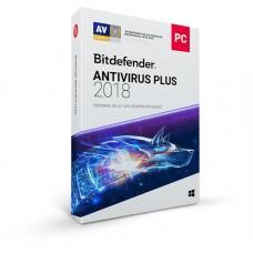 Bitdefender Antivirus Plus 2018, 1Y, 3U, MX 3 licencia(s) 1 año(s) Español