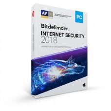Bitdefender Internet Security 2018, 1Y, 3U, MX 3 licencia(s) 1 año(s) Español