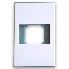 BRobotix 938276 tapa de seguridad para enchufe Blanco 1 pieza(s)
