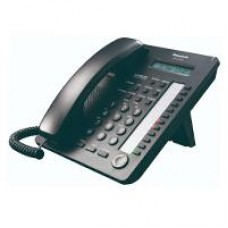 TELEFONO PANASONIC KX-AT7730 HIBRIDO CON PANTALLA DE 1 LINEA, 12 TECLAS DSS Y ALTAVOZ NEGRO
