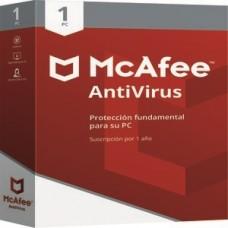 MCAFEE ANTIVIRUS  1 AñO PARA 1 COMPUTADORA