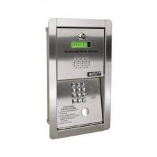 Audioportero telefónico / 600 números telefónicos / Control para 2 puertas / Gabinete para sobreponer/ Marcación a 16 digitos / Linea análoga o digital