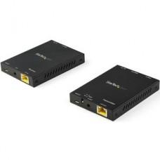StarTech.com Juego Extensor HDMI por CAT6 - 4K 60Hz - Alargador HDMI Balun - con Señal hasta 50m - HDR - 4:4:4 - con Soporte de Audio 7.1 - Alargador para vídeo/audio - HDMI - hasta 50 m