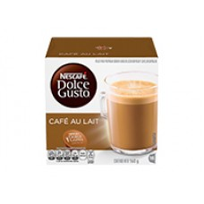 Dolce Gusto DLC Caja Master - 3 - Cubos Cafe con Leche - 3 Cajas Cafe con Leche (16 capsulas x caja)
