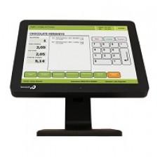 BEMATECH - Monitor Touch Screen - LE1015 - Pantalla LCD 15 pulgadas - 5-wire Capacitivo - Luminosidad 250 cd/m2 - Tiempo de respuesta 12 ms - Temperatura de operación 5ºC-40ºC