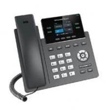 TELEFONO IP 2 LINEAS SIP, PANTALLA A COLOR, VISTA FRONTAL INTERCAMBIABLE, FIRMWARE DUAL, GESTION CENTRALIZADA, AUDIO HD, 16 TECLAS BLF DIGITALES, SOPORTA POE.