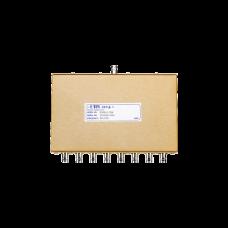 Divisor de Potencia EMR de 8 Vías, 30-700 MHz, 0.5 Watt, Conectores BNC Hembra.