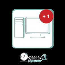 Expansión (Activacion adicional) para Software de Tiempo & Asistencia compatible con SISTEMAS DE NOMINA / Acceso3 - TITANIUM