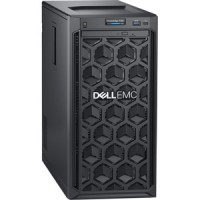 Dell - Server - Tower - 1 Intel Xeon E-2200 series E-2224 / 3.4 GHz - 8 GB DDR4 UDIMM - 1 TB Hard Drive Capacity - None