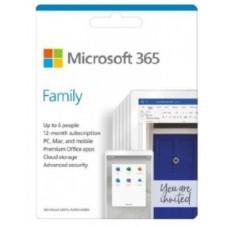 MICROSOFT 365 FAMILY 32/64BITS 1YR 6USR SPANISH (6GQ-01220)