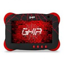 TABLET GHIA 7 KIDS/A50 QUADCORE/1GB RAM/16GB /2CAM/WIFI/BLUETOOTH/2500MAH/ANDROID 9 /NEGRA