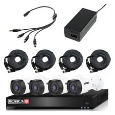 Kit de Video Vigilancia PROVISION-ISR KIT-2MP-4X4-FREE-CABLE - 4 canales, 2 MP