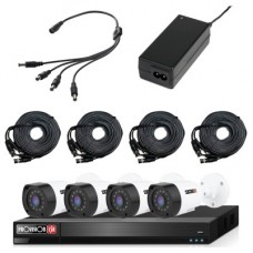 Kit de video vigilancia  PROVISION-ISR KIT-2MP-8X4-FREE-CABLE - 8 canales, 2 MP