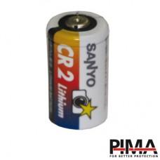 Batera de litio CR2; 3.0 V, 0.850 Ah