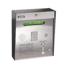 Control de acceso /Gabinete para sobreponer / 2 puertas / 3000 nmeros telefnicos / 11 digitos / Directorio en pantalla / Linea anloga o digital / Expandible a 16 puertas / Programable por PC