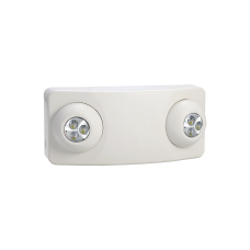 Luz DUAL LED de Emergencia/350lm/Uso Rudo/Montaje en pared o Techo/Batera de Respaldo Incluida