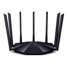 ROUTER AC23 AC2100 802.11 AC/B/G/N DUAL-BAND 7 ANTENAS EXTERNAS MU-MIMO + BEAMFORMING, IPV6, IPTV, 4 PUERTOS GIGABIT, UNIFICA SEÃ?ALES 2.4 GHZ Y 5 GHZ, (1 WAN/ 3 LAN)