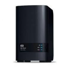 NAS WD MY CLOUD EX2 ULTRA 24TB/CON 2 DISCOS DE 12TB/2BAHIAS/1.3GHZ/1GB/1ETHERNET/2USB3.0/RAID 0-1