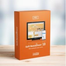 Soft Restaurant®10 Professional Renta Mensual Electrónica. Licencia por establecimiento 10 nodos.  (SR-10PRO-RE). Software de administración  y Punto de ve -