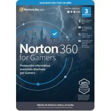 Norton 360 Caja For Gamers Antivirus de 3 Licencias (TMNR-023) -