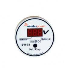 Monitor de Baterias  Entrada: 6-31 Vcd con display