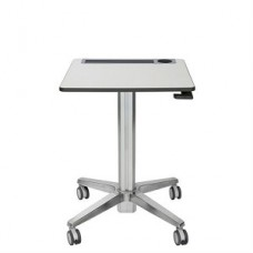LEARNFIT  16  TRAVEL ADJUSTABLE STANDING DESK  CLEAR ANODIZED