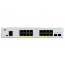 Switch Cisco Catalyst C1000-16T-E-2G-L 16 puertos Gigabit Ethernet - Ext PS, 2x1G SFP