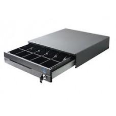 Cajón de Dinero EC-LINE EC-CD-100M-II-GREY Negro - Acero, 7, 5, Llave