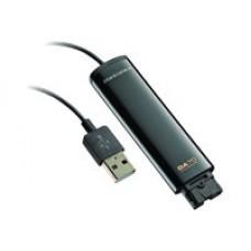 Plantronics DA70 - Tarjeta de sonido - USB - para EncorePro HW510, HW515, HW520, HW525, HW530, HW535, HW545, HW710, HW715, HW720, HW725