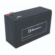 BATERA DE REPUESTO PARA NO BREAK 12 V / 9 AH, COMPATIBLE CON 7016 USB/R, 7011 USB/R, 9011 USB/R, 13507 USB/R, 15007 USB/R, 7522 USB/R Y 9022 USB/R.