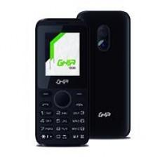 GHIA TELEFONO CELULAR 2G / QUADBAND / PANTALLA 1.77IN / SINGLE CORE / 32MB32MB / CAM 0.08MP/ BATERIA 600MAH/ RADIO FM/ NEGRO CON GRIS