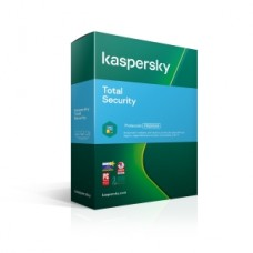 KASPERSLY TOTAL SECURITY 5 DISPOSITIVOS 1 ANO CAJA