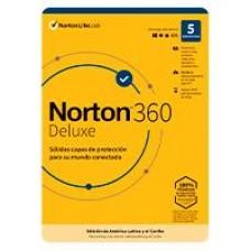 ESD NORTON 360 DELUXE / TOTAL SECURITY/ 5 DISPOSITIVOS/ 2 AÃ?OS / DESCARGA DIGITAL