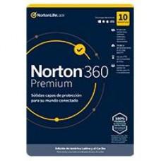 ESD NORTON 360 PREMIUM / TOTAL SECURITY/ 10 DISPOSITIVOS/ 2 AÃ?OS / DESCARGA DIGITAL