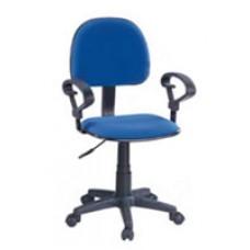 Silla para computador - Con apoyabrazos - Color azul